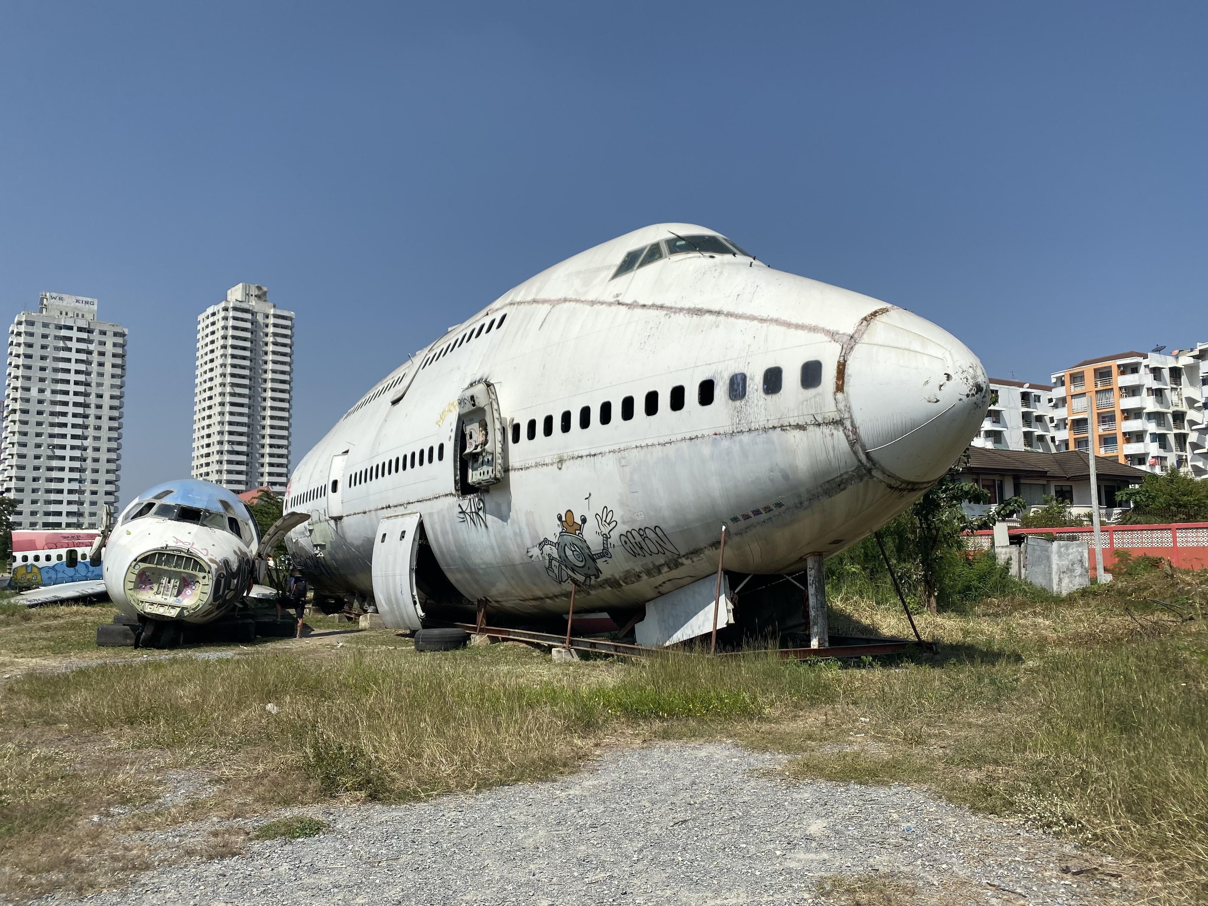 墓場 飛行機 の
